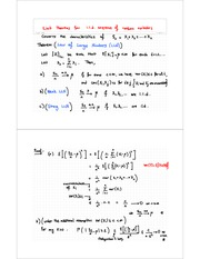 L5 - Limits Theorems for sum of iid random variables