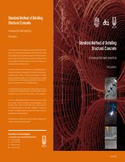 Standard method of detailing structural concrete IstructE