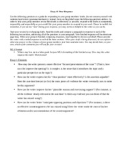Cross cultural awareness respond to question essay
