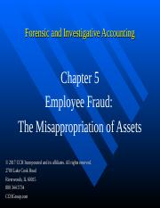 8Ed_CCH_Forensic_Investigative_Accounting_Ch05.ppt