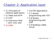 Application Layer_Continues