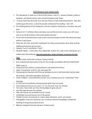 Quiz 3 Study Guide