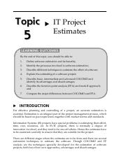 16150657Topic5ITProjectEstimates