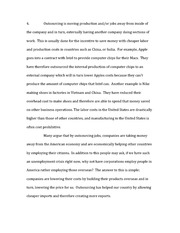 BUS 216 - Business Ethics - Take Home Final Essay #4