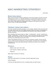MAC-marketing-strategy