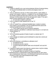 CH6 practice questions