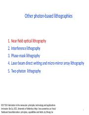 5 Other photon-lithographies.pptx
