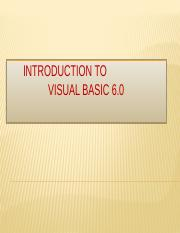 INTRODUCTION TO VISUAL BASIC 6.pptx