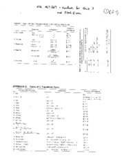 ECE 467_667 Handouts for Final Exam