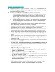 Human Rights Final Exam Study Guide