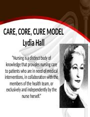 CARE, CORE, CURE MODEL.ppt