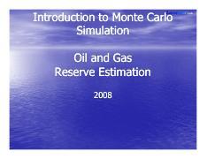 Monte Carlo Simulation Pdf