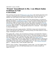 NYT - Album sales continue to fall 011514