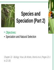 Lecture 4 - Species and Speciation_Part 2.pptx