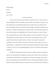 career case research essay