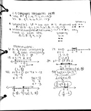 MAC 1105- Compound Inequalities