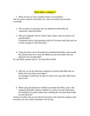 Note Sheet - Chapter 7(1)