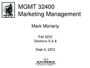 Slide5 2012 Fall  MGMT32400
