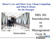 Class 9 - Moore's Law and Hardware (1)