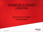 10-Economics of Freight Transportation