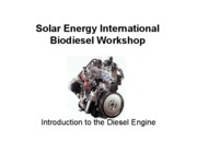 Introduction To Diesel Engine