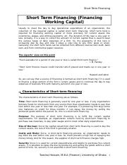 Financing Working Capital.doc