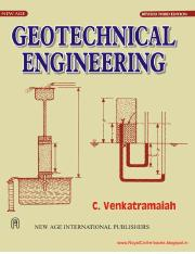 Geotechnical Engineering by C.Venkatramaiah civilenggforall