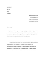 AP French Lettre to Docteur Pavlov