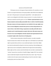 Philosophy Termpaper