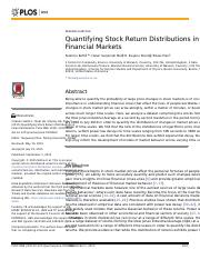 Quantifying Stock Return Distributions in financial markets.PDF