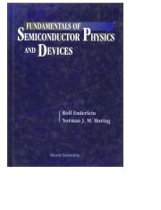 Semiconductor Physics And Devices Pdf
