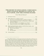 The Right to Education_ Comparing Systems