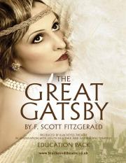 The Great Gatsby Education Pack (1)