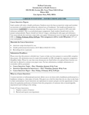 Career Interview Instructions_W14