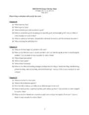 MKT300-401 Fall 2010 Exam 3 Reviews Sheet