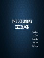The Columbian Exchange (1) dirdin project.pdf