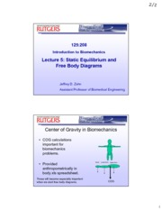 Exported - Lec 5 Static Equilibrium + Free Body Diagrams - 20120211_175648