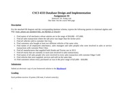 CSCI 4333 Database Design and Implementation Assignment #4