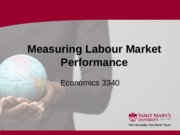 1 Section One - Measuring Labour Market Performance - 2016 01