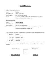 01 Surat Kuasa Perpanjangan Stnk Filekucodocx Contoh
