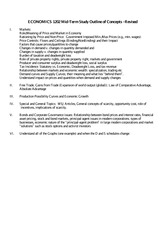 econ1202 course outline Here is the best resource for homework help with econ 1202 : quantitative  analysis for business and economics at university of new south wales.