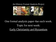 5-Early Christianity and Byzantium