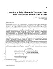 07of20 - Learning to Build a Semantic Thesaurus from Free Text Corpora without External Help.pdf