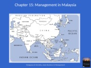 Lec8 Management in Malaysia