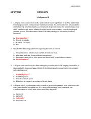 Pathophysiology Assignment 6.docx