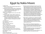 Egypt Country Project