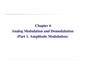 Chpt.6 Analogue Modulation-AM