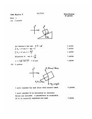 1988 Physics C Solutions