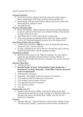 Louisiana homework help