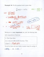 9 Chain Rule, Implicit Differentiation, Related Rates, Introduction to Log Differentiation